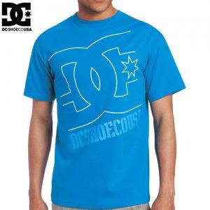 【DC ディーシーシューズ スケボー Tシャツ】RD USA LIGHT TEE【ターコイズ ブルー】NO7