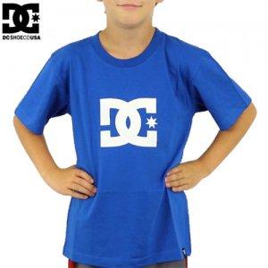 【DC ディーシーシューズ ユース Tシャツ】STAR BIG YOUTH TEE【ロイヤル ブルー】NO3