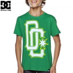 【DC ディーシーシューズ ユース Tシャツ】SPORTAGE BIG YOUTH TEE【ケリー グリーン】NO7