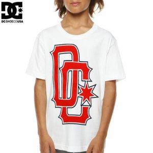 【DC ディーシーシューズ ユース Tシャツ】SPORTAGE BIG YOUTH TEE【ホワイト】NO8