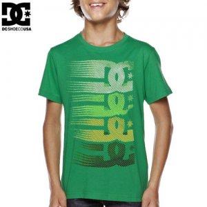 【DC ディーシーシューズ ユース Tシャツ】CARLIN BIG YOUTH TEE【ケリー グリーン】NO13