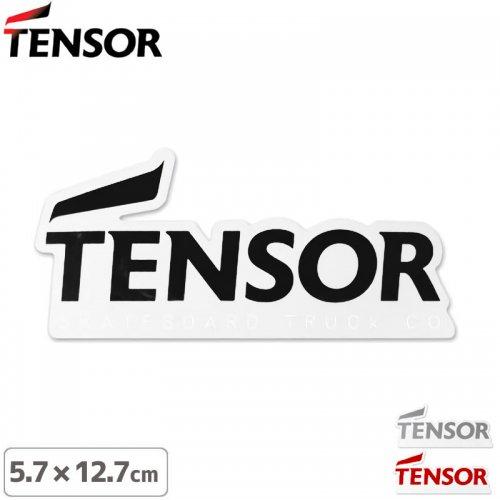 【TENSOR テンサー ステッカー 】TENSOR TRUCK CO【3色】【5.7cm×12.7cm】NO3