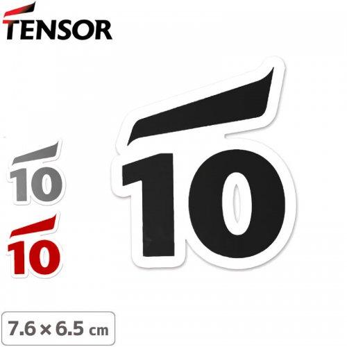 【TENSOR テンサー ステッカー 】TEN-10 LOGO【3色】【7.6cm×6.5cm】NO6
