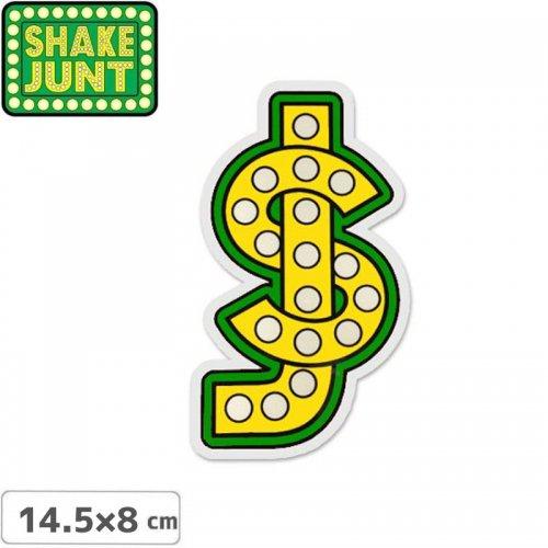 【シェイクジャント SHAKE JUNT スケボー ステッカー】SJ STICKER【14.5 x 8cm】NO19