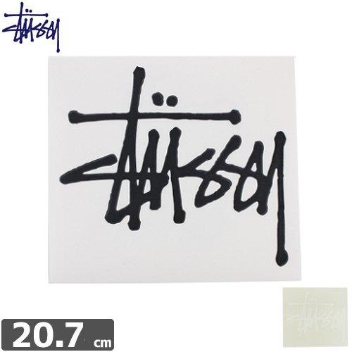 【STUSSY スケボー ステッカー】STOCK LOGO LARGE【2カラー】【19cm x 20.7cm】【文字抜き】NO35