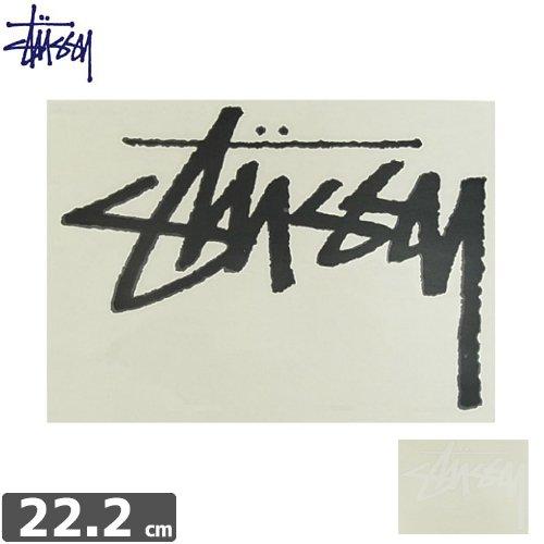 【STUSSY スケボー ステッカー】ORIGINAL STOCK STICKER【2カラー】【16.2cm x 22.2cm】【文字抜き】NO37