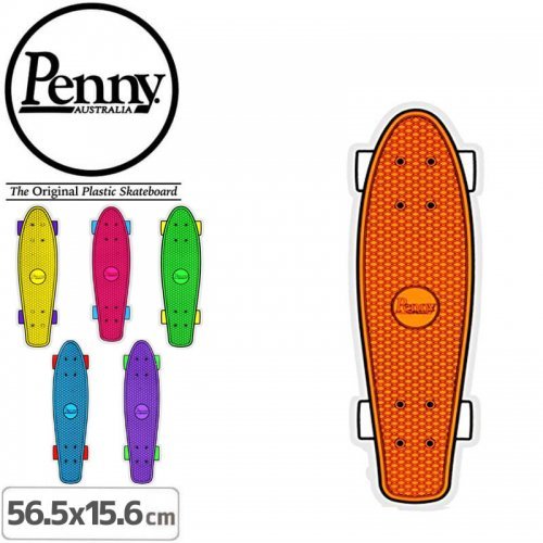 【ペニー PENNY STICKER ステッカー】FLOOR DECAL【6色】【56.5cm x 15.6cm】No22