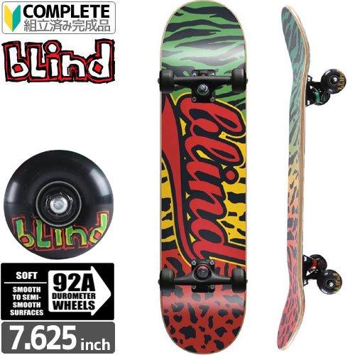 【ブラインド BLIND スケートボード コンプリート】WILD ATHLETIC PREMIUM COMPLETE 92A[7.625インチ]NO78