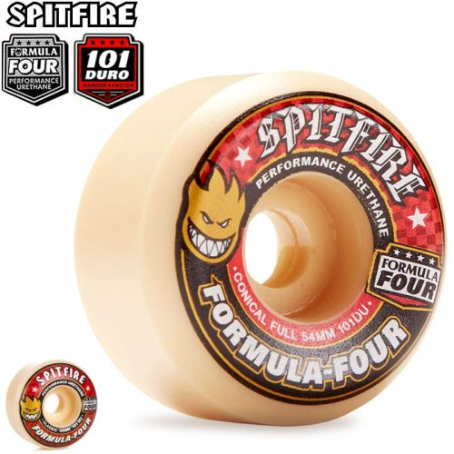 【SPITFIRE スピットファイア ウィール】FORMULA FOUR 101A【52mm】【54mm】【56mm】NO171