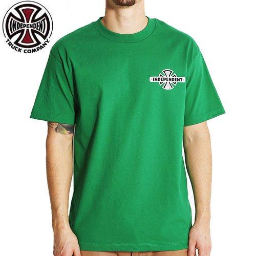 【インディペンデント INDEPENDENT Tシャツ】VINTAGE B/C CHEST TEE【グリーン】NO108