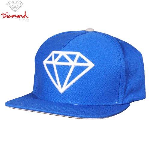 【DIAMOND SUPPLY ダイアモンドサプライ キャップ】ROCK LOGO SNAPBACK HAT【ブルー】NO58