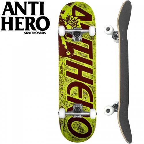 【ANTI HERO アンタイヒーロー スケートボード コンプリート】FAN CLUB[7.75インチ]オリジナルビルド NO6