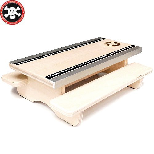 【ブラックリバー BLACKRIVER 指スケ】+BLACKRIVER-RAMPS+ TABLE MINI【20cm】NO4