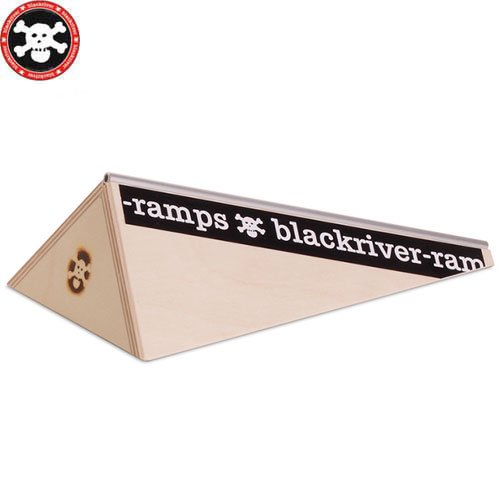 【ブラックリバー BLACKRIVER 指スケ】+BLACKRIVER-RAMPS POLEBANK【22.5cm】NO12