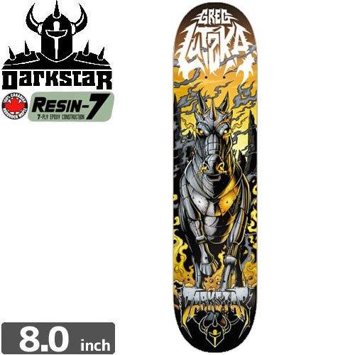 【ダークスター DARK STAR スケボー デッキ】LUTZKA METAL SL DECK[8.0インチ]NO71