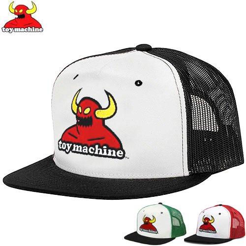 【トイマシン TOY MACHINE スケボー キャップ】MONSTER MESH HAT【3COLOR】NO33
