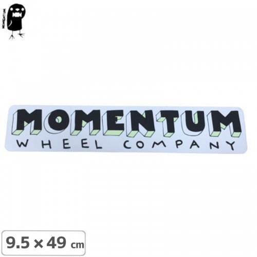 【モーメンタム MOMENTUM ステッカー】MOMENTUM LOGO STICKER【49cm x 9.5cm】NO29