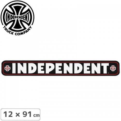 【インディペンデント INDEPENDENT スケボー ステッカー】BAR STICKER【12cm x 91cm】NO80