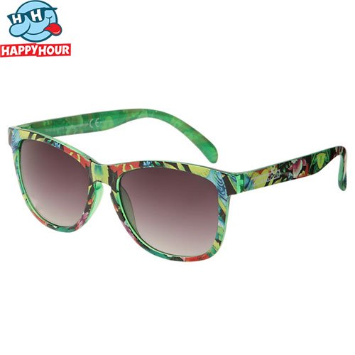 【HAPPY HOUR ハッピーアワー サングラス】DUNCOMBE TROPICAL SUNRISE SHADES TROPICAL NO6