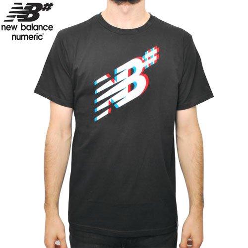 【NEW BALANCE NUMERIC ニューバランス ナメリック Tシャツ】SHADOW SKATE TEE【ブラック】NO3