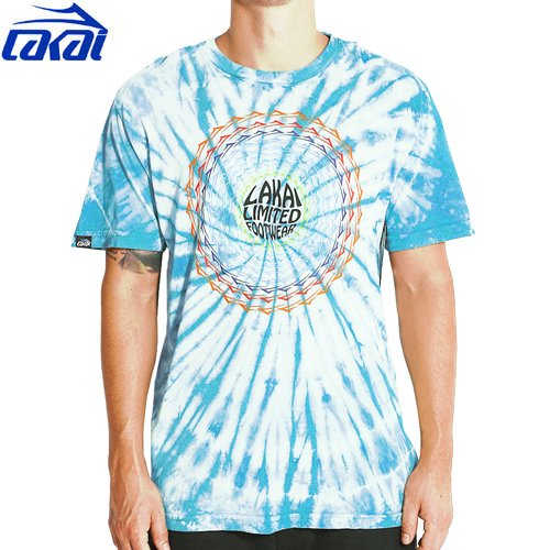 【LAKAI ラカイ スケボー Tシャツ】LAKAI SPIRAL TEE【タイダイ】NO16