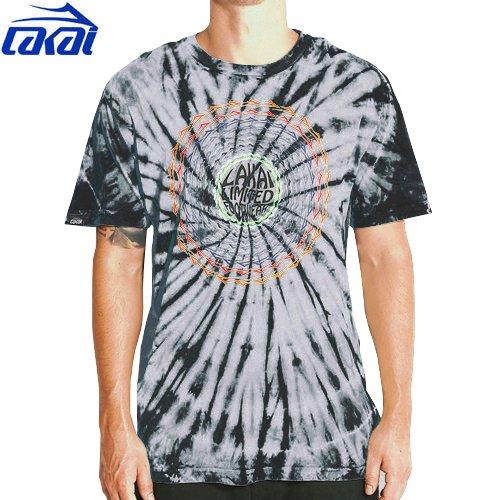 【LAKAI ラカイ スケボー Tシャツ】LAKAI SPIRAL TEE【タイダイ】NO17
