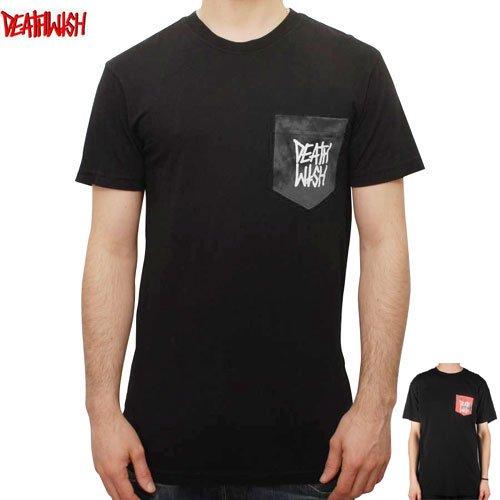【デスウィッシュ DEATHWISH スケボーTシャツ】DEATHSTACK MARBLE POCKET TEE【2カラー】NO24