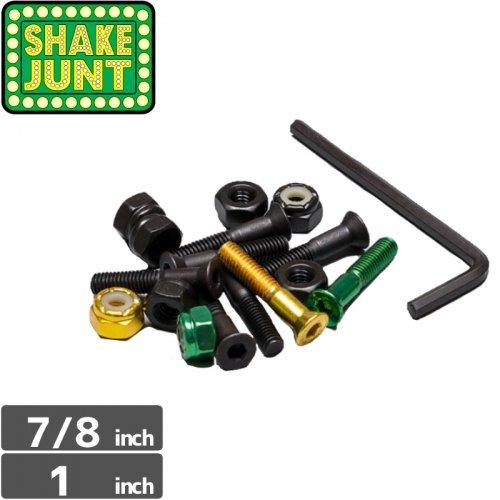 【シェイクジャント SHAKE JUNT ハードウェア】SHAKE JUNT BOLTS【7/8インチ】【1インチ】NO1