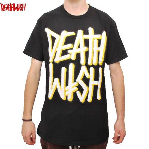 【デスウィッシュ DEATHWISH スケボー Tシャツ】DEATHSTACK TEE【ブラック】NO29