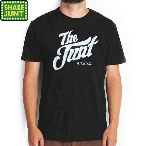 【シェイクジャント SHAKE JUNT Tシャツ】THE JUNT TEE【ブラック】NO20