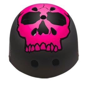 ARMOR HELMET スケートボード用 ヘルメット ピンクスカル
