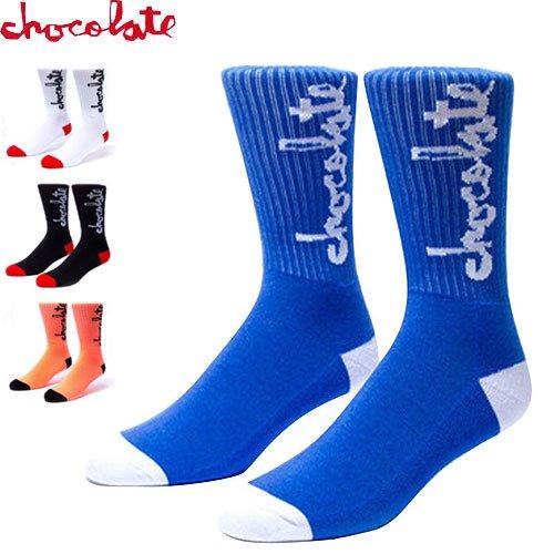 【CHOCOLATE チョコレート スケートボード ソックス】CHUNK【4カラー】NO01