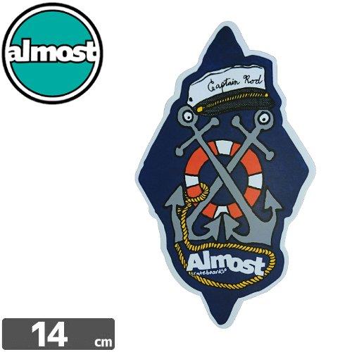 【ALMOST オルモスト スケボー ステッカー】STICKER【14cm x 8.5cm】NO86