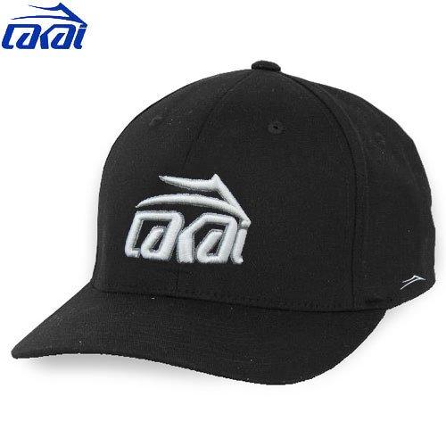 【ラカイ LAKAI スケート キャップ】STRYKER FLEX CAP【ブラック】NO1