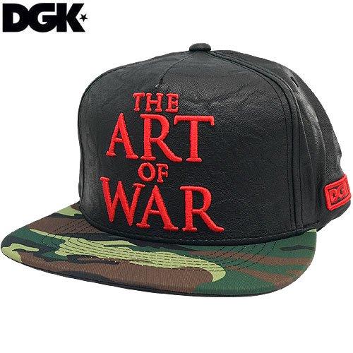 【ディージーケー DGK スケボーキャップ】HATERS SNAP BACK HAT【ブラック x ティール グリーン】NO51