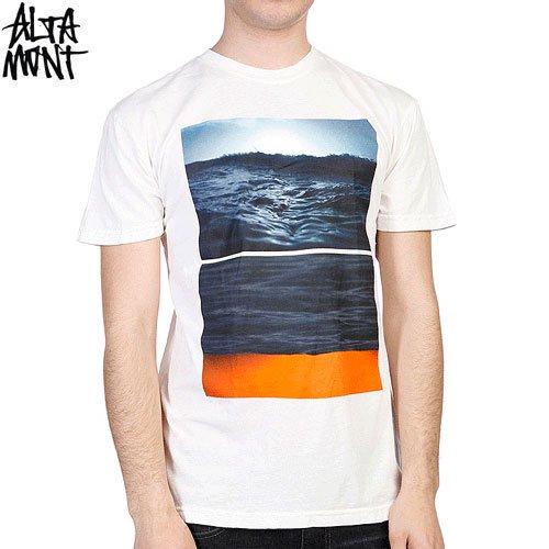 【オルタモント ALTAMONT スケボー Tシャツ】FLIPPED SEASCAPE TEE【クリーム】NO28