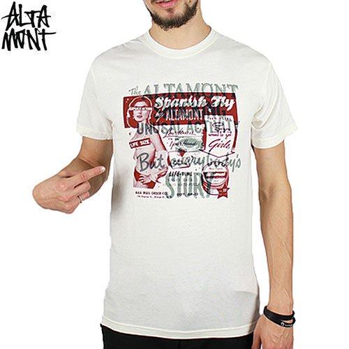 【オルタモント ALTAMONT スケボー Tシャツ】EXPLICIT TEE【クリーム】NO37