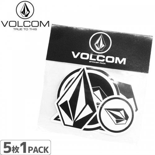 【ボルコム VOLCOM ステッカー】STICKER PACK【5枚入り】NO01