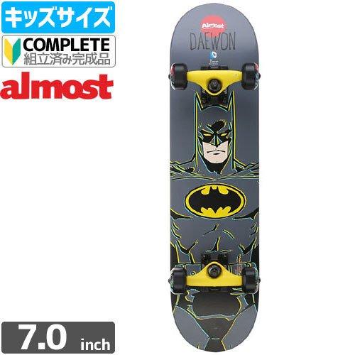 【オルモスト ALMOST キッズ スケボー コンプリート】SONG BATMAN MINI COMP[7.0インチ]NO1