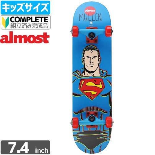 【オルモスト ALMOST キッズ スケボー コンプリート】MULLEN SUPERMAN MINI COMP[7.4インチ]NO2