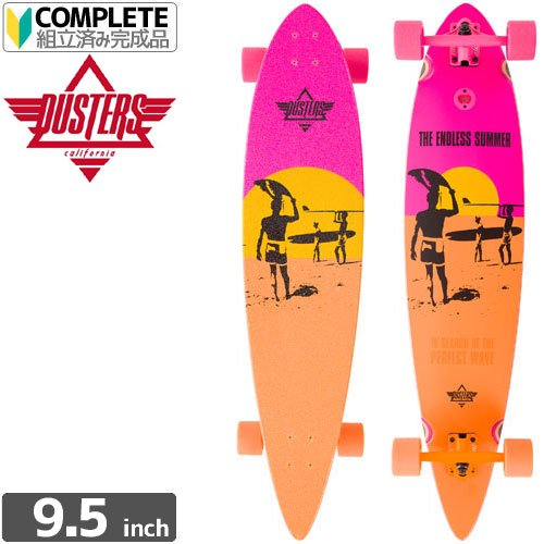 【SPEED DEMONS クルーザー コンプリート】DUSTERS ENDLESS SUMMER LONGBOARD【9.5 x 42.0】NO7
