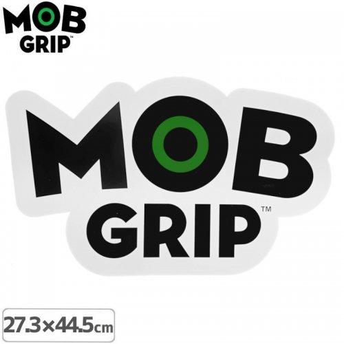 【MOB GRIP モブグリップ sticker ステッカー】Logo Big【44.5cm x 27.3cm】NO02