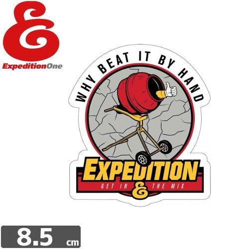 【エクスペディション ワン EXPEDITION ONE ステッカー】BEAT IT【8.5cm x 7.7cm】NO52