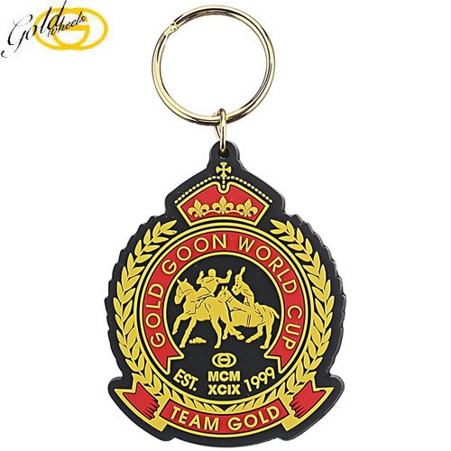 【ゴールド GOLD スケボー キーホルダー】GOLD WORLD CUP KEYCHAIN【6cm x 5cm】No1