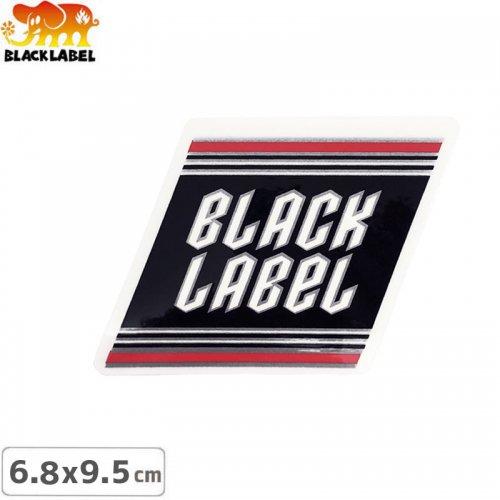 【BLACK LABEL ブラックレーベル ステッカー】TOP SHELF METAL STICKER【6.4cm x 9.5cm】NO53