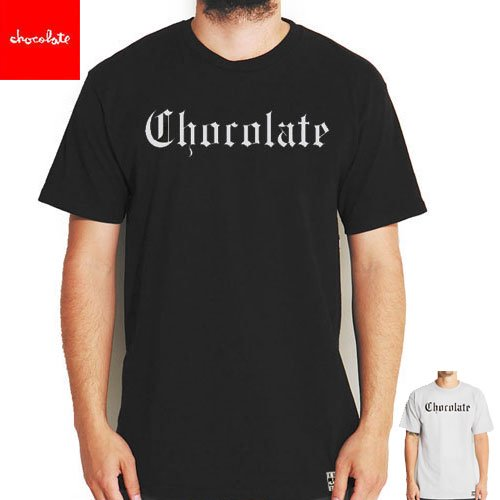 【チョコレート CHOCOLATE スケートボード Tシャツ】EAZY-C TEE【ブラック】【グレー】NO137