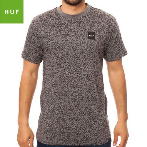 【HUF ハフ スケボー Tシャツ】HUF QUAKE TEE【グレー】NO12