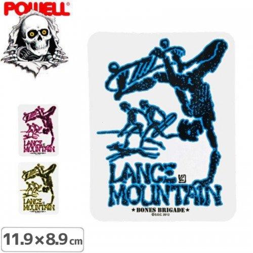 【パウエル POWELL スケボー ステッカー】LANCE MOUNTAIN FUTURE PRIMITIVE【3色】【11.9cm x 8.9cm】NO7