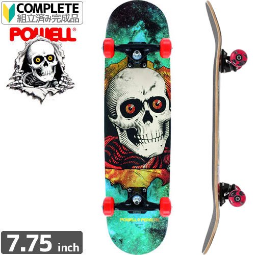 【POWELL PERALTA パウエル コンプリート】RIPPER COSMIC GREEN COMPLETE ASSEMBLY[7.75インチ]NO64