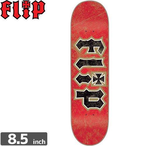 【フリップ FLIP スケボー デッキ】THRASHED RED GOLD DECK[8.5インチ]NO77